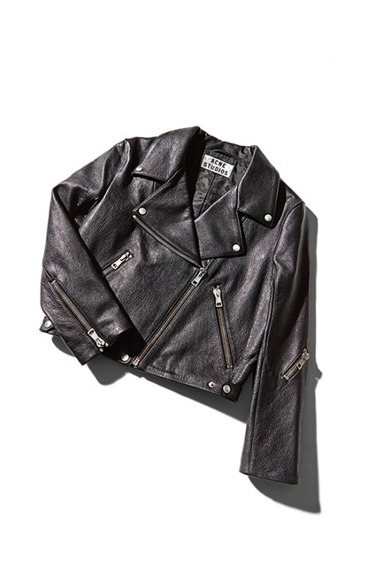 The leather biker