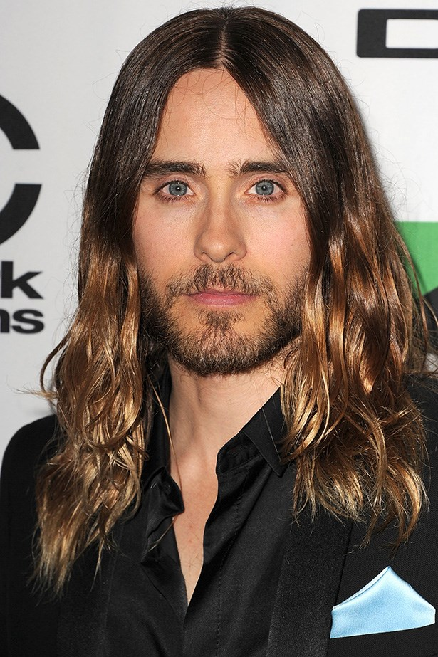 Curls get the girls: Leto was back on the scene in 2013 with swoon-worthy locks at the Annual Hollywood Film Awards.