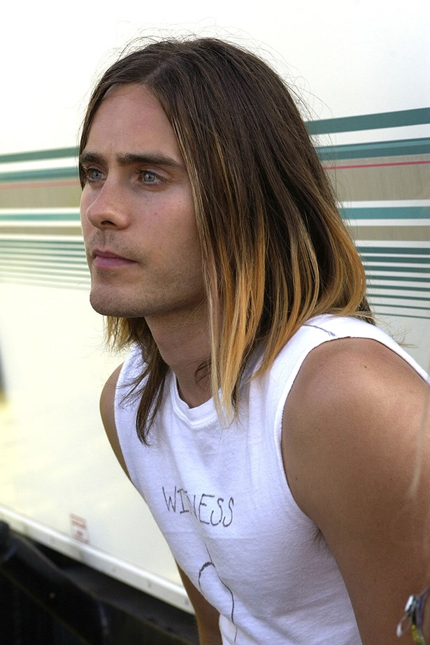 After growing out his choppy crop, the Thirty Seconds to Mars front man went back to balayage with a straightened mid-length 'do.
