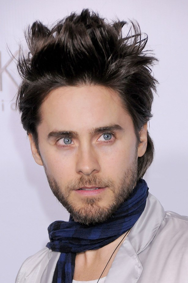 There's no denying it, the man knows his way around a pot of styling wax. Leto's hair was textured to-a-T at a Calvin Klein event in 2010.