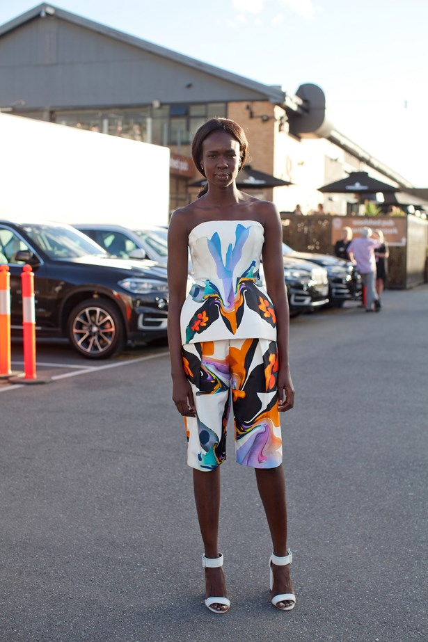 <p>Lorna Deng wears Josh Goot bodice and shorts. </p> <p>Photography: Liz McLeish</p>
