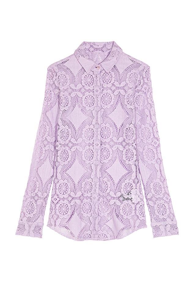 """Shirt, $1,125, Burberry Prorsum, <a href=""""http://www.burberry.com"""">burberry.com</a>"""