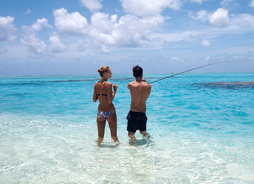 """""""Someone had to teach Michaela how to fish..!"""" Nicky Zimmermann"""
