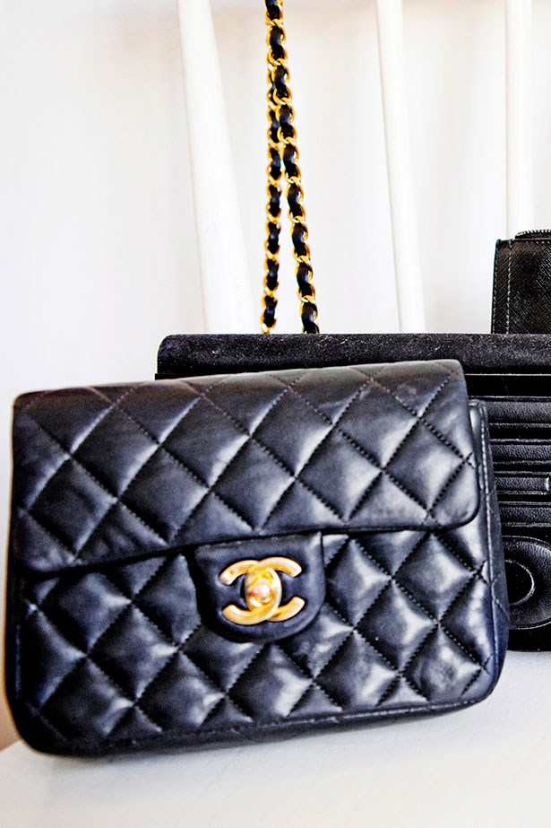 Cooney's vintage Chanel handbag
