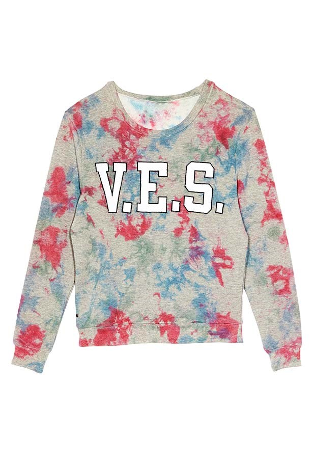 "Sweatshirt, $150, Vanishing Elephant, <a href=""http://www.vanishingelephant.com"">vanishingelephant.com</a>"