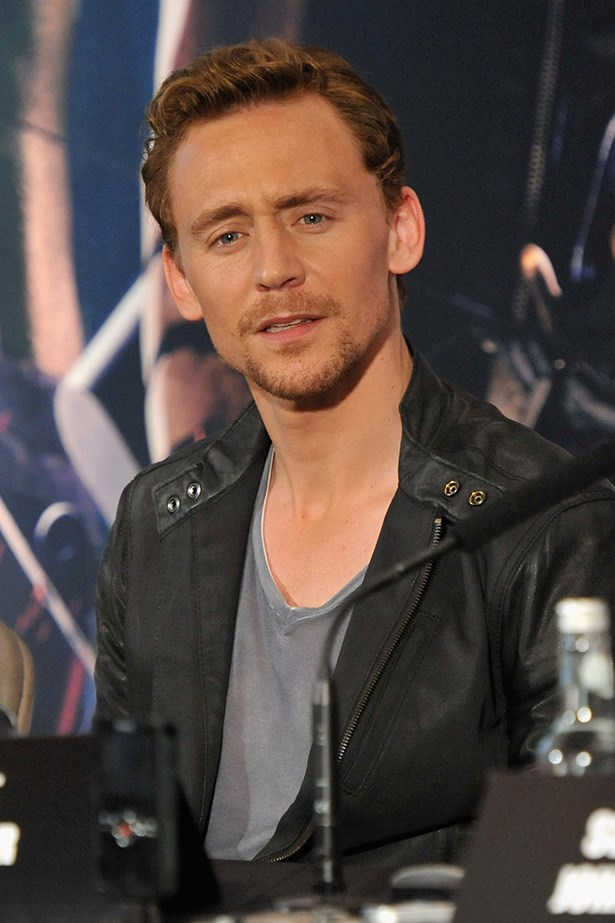 It's rare to see the British actor out of suit. But he certainly does rock a leather jacket too!