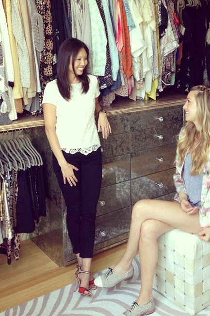 Lisa Adams convincing Whitney Port to make detoxing her wardrobe a habit