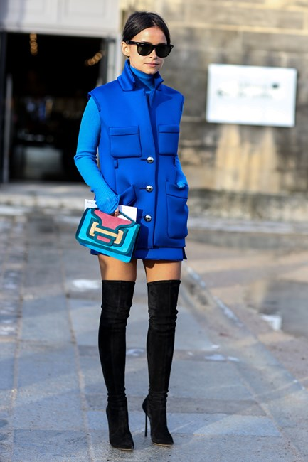 Street style trend: bold and beautiful