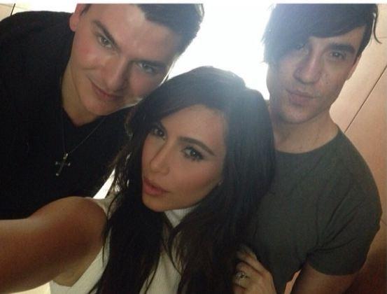 Another flawless selfie by Kim Kardashian