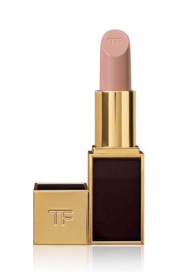 Lip Color in Blush Nude, $65, Tom Ford, 1800 061 326 Two looks, one lipstick: apply straight from the tube for an opaque finish, or blend with fingertips for a barely-there tint. With ingredients like soja seed extract and Brazilian murumuru butter, the formula applies like a dream and keeps its satin texture for longer.