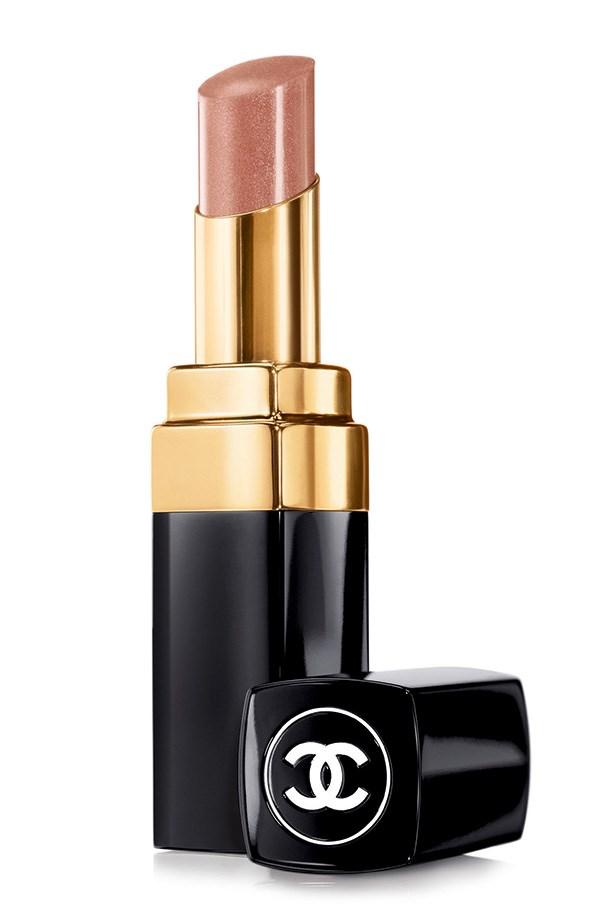 """Rouge Coco Shine lipstick in Canotier, $50, Chanel, (02) 9900 2944 Chanel's pink-nude is a go-to for celebrity makeup artist Jeannia Robinette, who counts Eva Mendes as a client. """"It's a great neutral brown with a natural, smooth matte finish."""""""