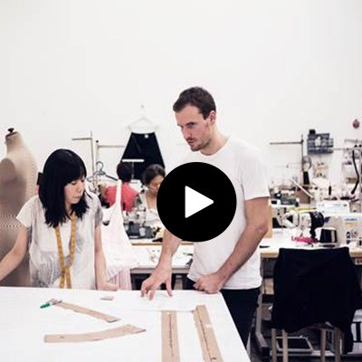 Dion Lee talks retail and his design process