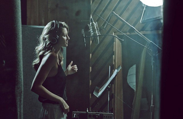 """Gisele and Bob Sinclair in the studio <br><br><br>Related links: <br> <a href=""""http://www.elle.com.au/news/fashion-news/2014/2/miranda-kerr-is-tapped-as-the-new-face-of-hm/"""">Miranda Kerr tapped as the new face of H&M</a><br> <a href=""""http://www.elle.com.au/news/celebrity-news/2014/1/david-beckham-strips-for-new-hm-shots/"""">David Beckham in his undies for H&M</a>"""