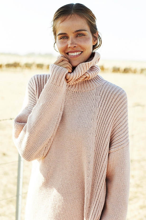 Australian actress Isabel Lucas for Country Road