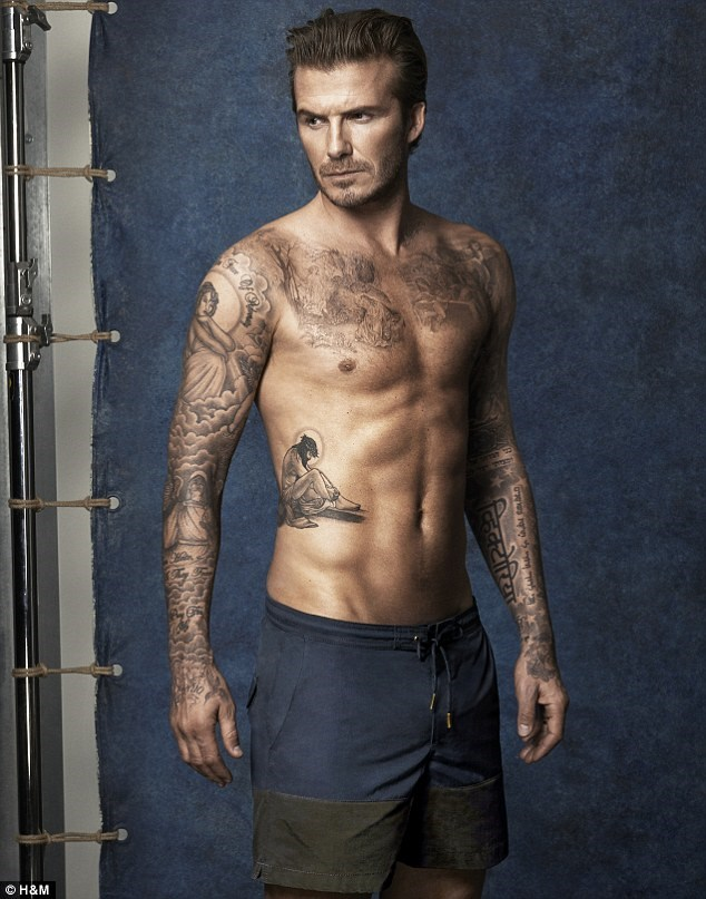 David Beckham's swimwear line for H&M will be available in Australia from May 22, 2014