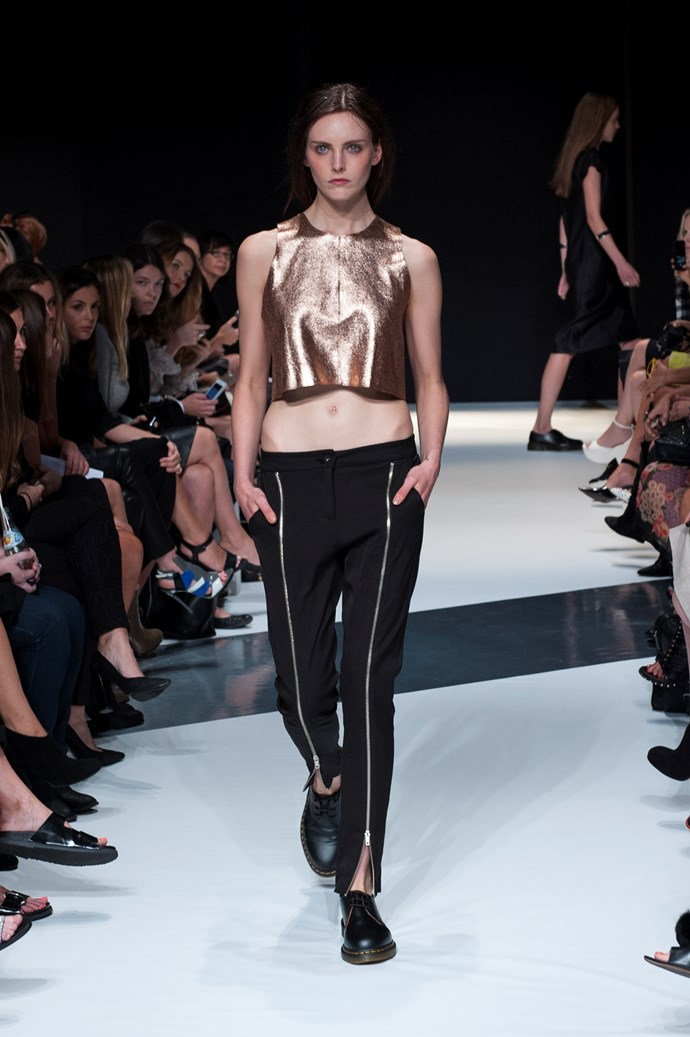 Mercedes Benz Fashion Week Australia<br> <br> Kahlo SS14-15<br> <br> Photography: Ken Butti <br><br>
