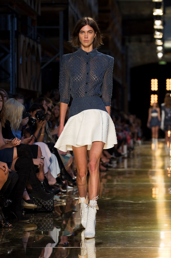 Mercedes Benz Fashion Week Australia<br> <br> Alex Perry SS14-15<br> <br> Photography: Ken Butti <br><br>