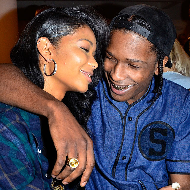 asap rocky and chanel iman engaged elle