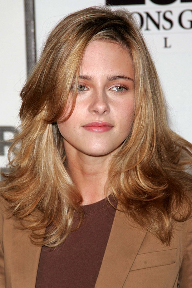 The actress was a blonde for a short time in 2005. She attended the 4th Annual Tribeca Film Festival with bronze eyeshadow, a flick of mascara and pink lip balm.