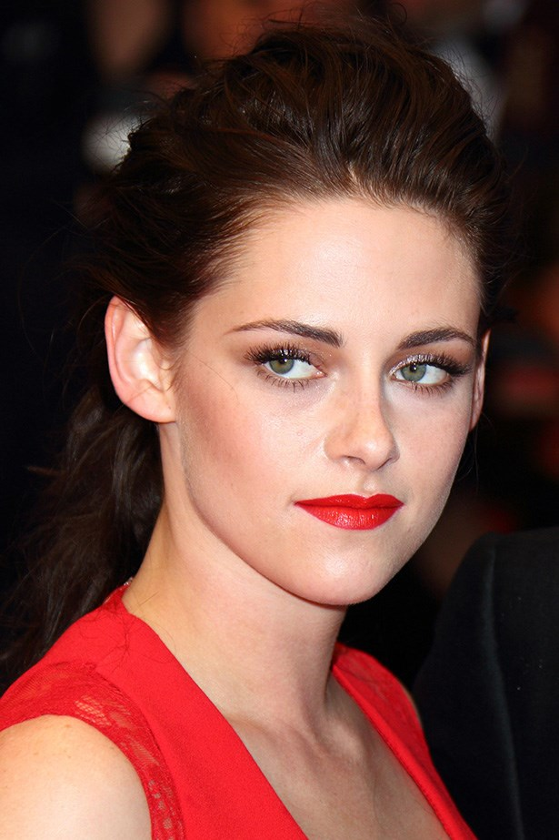 Stewart was a knockout at the 65th Annual Cannes Film Festival in 2012, sporting a pillar-box red lip and cheek-contouring bronzer.