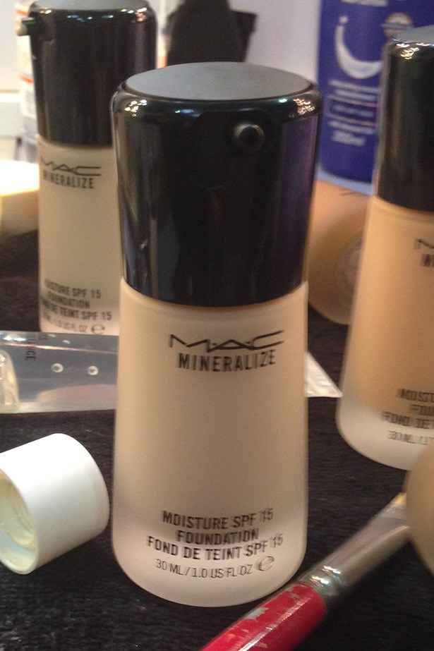 """<p><strong> M.A.C makeup artist Linda Jeffreyes</strong></p> <p><em>Mineralize Moisture SPF 15 Foundation , $49, M.A.C, <a href=""""http://www.maccosmetics.com.au"""">maccosmetics.com.au</a></em></p> <p>""""I'm using this at every show I'm working on – it gives a beautiful, hydrated, dewy finish. It's flawless."""" </p>"""
