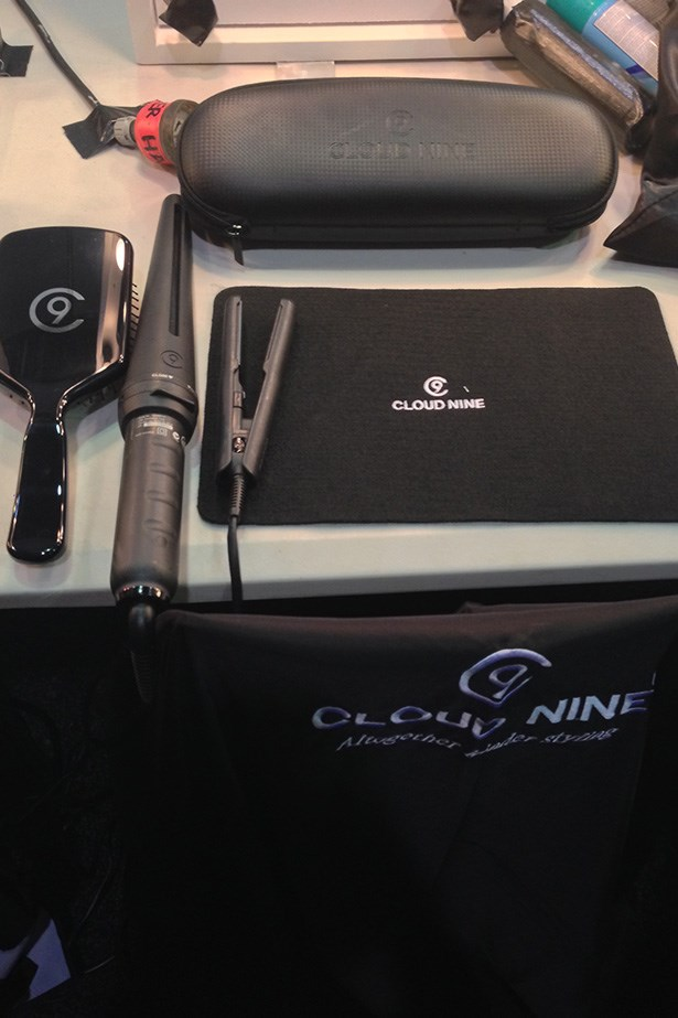 """<p><strong>Hair stylist Renya Xydis </strong></p> <p><em>Micro Iron, $149, Cloud Nine, 1300 437 436</em></p> <p>""""That mini wand is saving my life. I couldn't have created the fringe at Duvenage without that. It's also great for touch ups – a curl here, a bent there.""""</p>"""