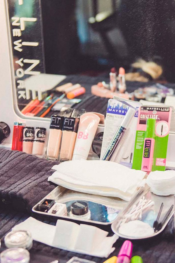 """<p><strong>Maybelline NY's Nigel Stanislaus </strong></p> <p><em>Dream Fresh BB Cream, $15.95, Maybelline, 1300 369 327</em></p> <p>""""BB cream is what we're using in place of foundation to keep the look fresh and skin natural."""" </p>"""