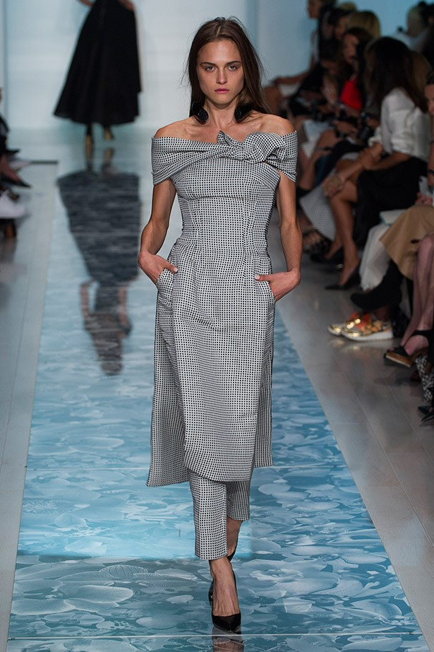 Fit for royalty: we love the elegant neckline of this Toni Matičevski dress.