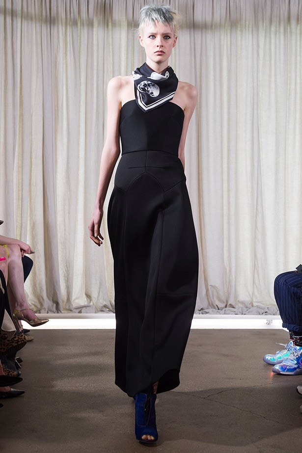 Another to add to the fashion pipe-dream list: this strapless Ellery gown.