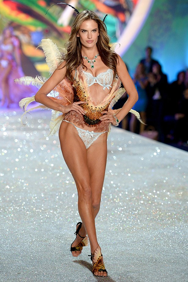 <strong>Alessandra Ambrosio</strong> <br> <br> The just-turned-33-year-old and mother of two, has been modelling since she was just 12-years-old, has been a Victoria's Secret Angel for ten years and working with the lingerie company for 14. She made her MBFWA runway debut last week when she opened and closed Alex Perry's SS14-15 show.