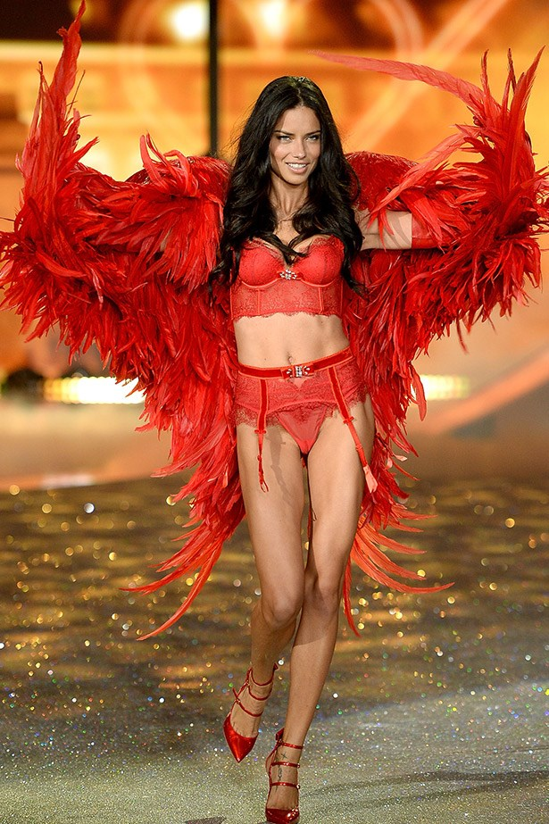 <strong>Adriana Lima</strong> <br><br> Officially the longest-running Victoria's Secret Angel, 32-year-old  Brazilian Adriana Lima, has been an Angel for 14 years and has been working with the brand for 15.