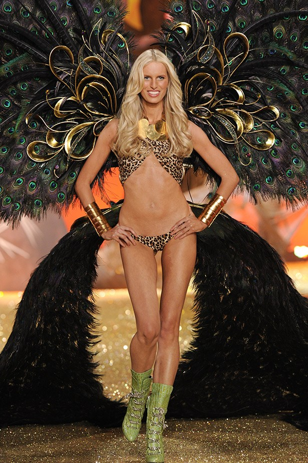 <strong>Karolina Kurkova </strong> <br><br> 30-year-old Karolina Kurkova worked with Victoria's Secret for 11 years and was an Angel for 6 of those. She began modelling and walking for major designers, like Prada, at just 15-years-old.