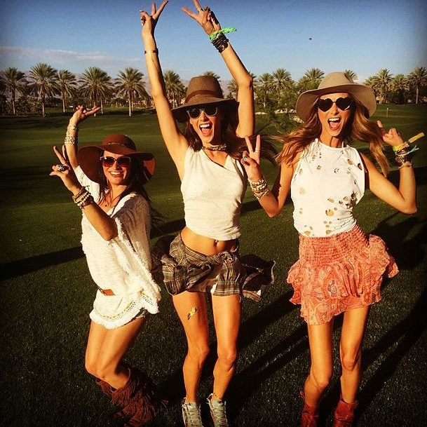 Alessandra Ambrosio and pals for Best Use Of An Isabel Marant VIP Discount.