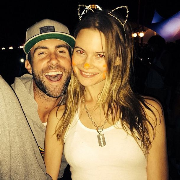Adam Levine and Behati Prinsloo for Most Attractive Couple (even considering Prinsloo's face paint).