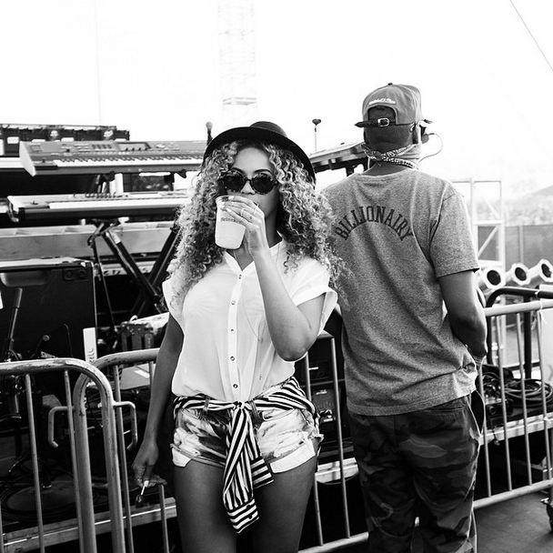 Beyonce's hat and Jay Z's bandana tied for Best Staying Power.