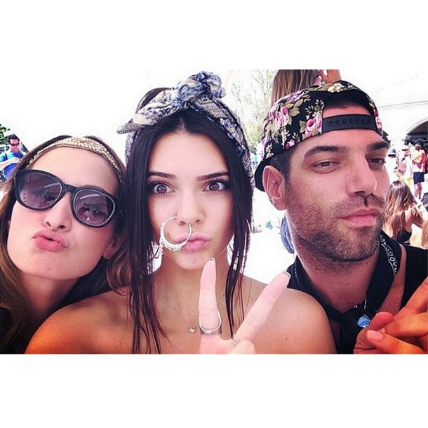 Kendall Jenner for Most Inventive Use Of Body Jewellery.