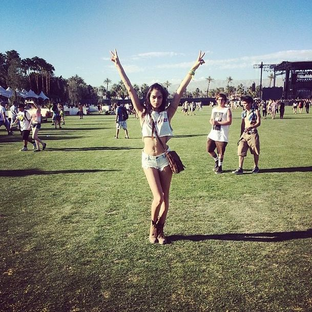 Shanina Shaik for Best Midriff. That guy in the background for Most Likely To Need A Cold Shower.