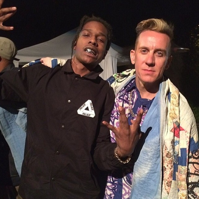 A$AP Rocky (pictured with Jeremy Scott) for Best Grill.