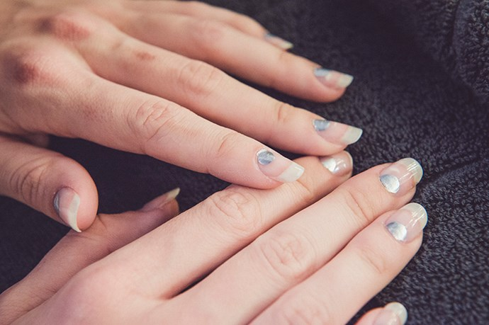 <p><strong>Best Moon Art: Michael Lo Sordo</strong></p> <p>Nail Polish in Allure and No Place Like Chrome, $16.95 each, Essie, 1300 369 327</p>