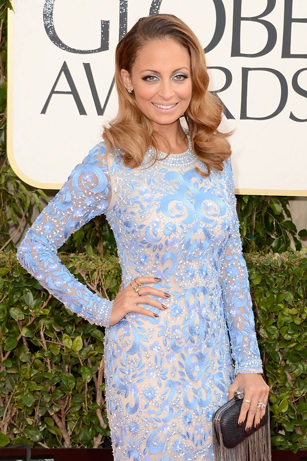 Celebrity inspiration: <br><br> Nicole Riche wore a similar multi-tonal hue to the 70th Annual Golden Globe Awards.