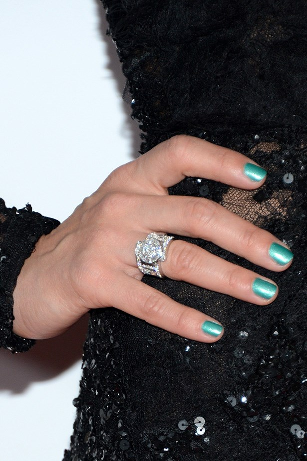 Celebrity inspiration: <br><br> Mother of two, Jessica Alba wore mint-green metallic polish to the 24th Annual Producers Guild Awards last year.