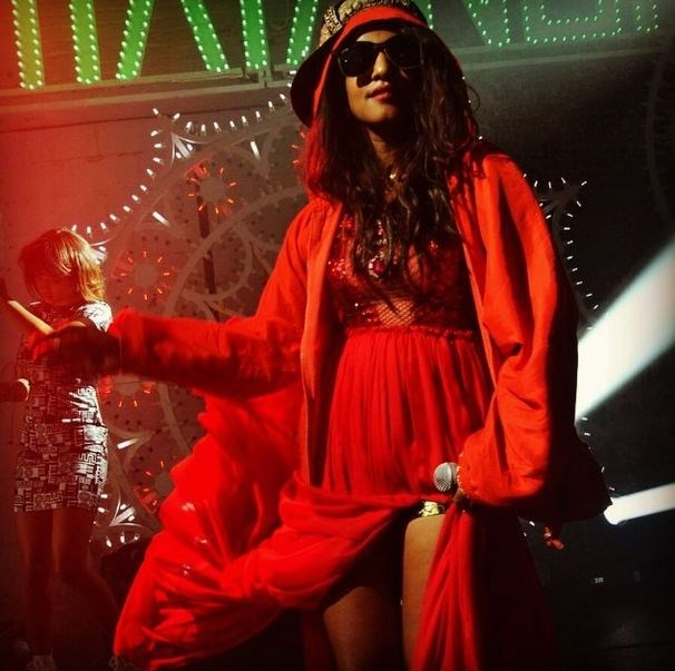 <strong>@miamatangi</strong> <br><br> Just like her music, M.I.A's Instagram is a cut and paste of colour and ethnicity. Vibrant, unpredictable and very very cool.