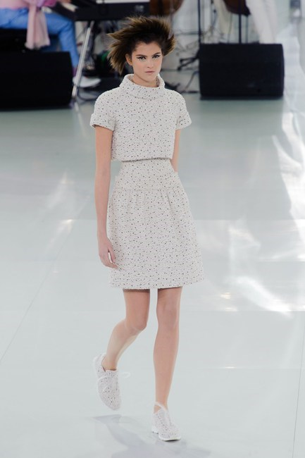 For unconventional wedding looks, be inspired by Chanel Haute Couture SS14