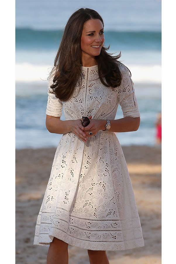 Kate Middleton in Zimmermann