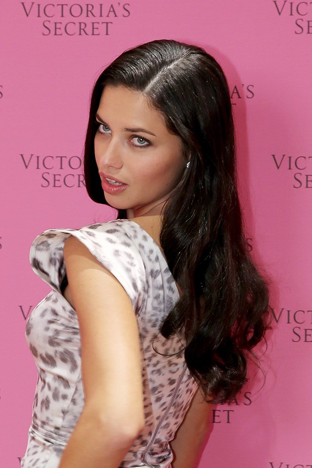 Victoria's Secret Angel Adriana Lima worked the pink-carpet late last year, not a raven-hair out of place.
