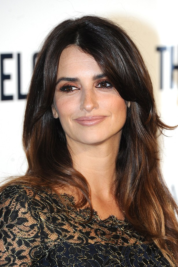 Dark-haired beauty Penelope Cruz stuns on the red carpet at the premiere of <em>The Counselor</em>.