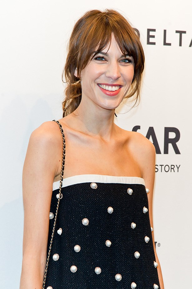 If you're not a jewellery lover, take inspiration from Alexa Chung and purchase a pearl-embellished garment.