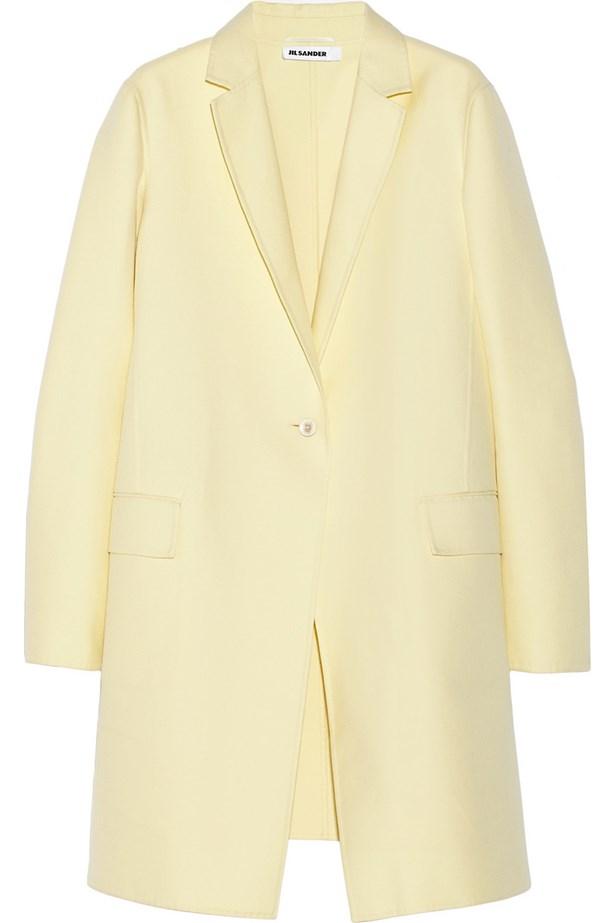 Coat, approx. $3233, Jil Sander, net-a-porter.com
