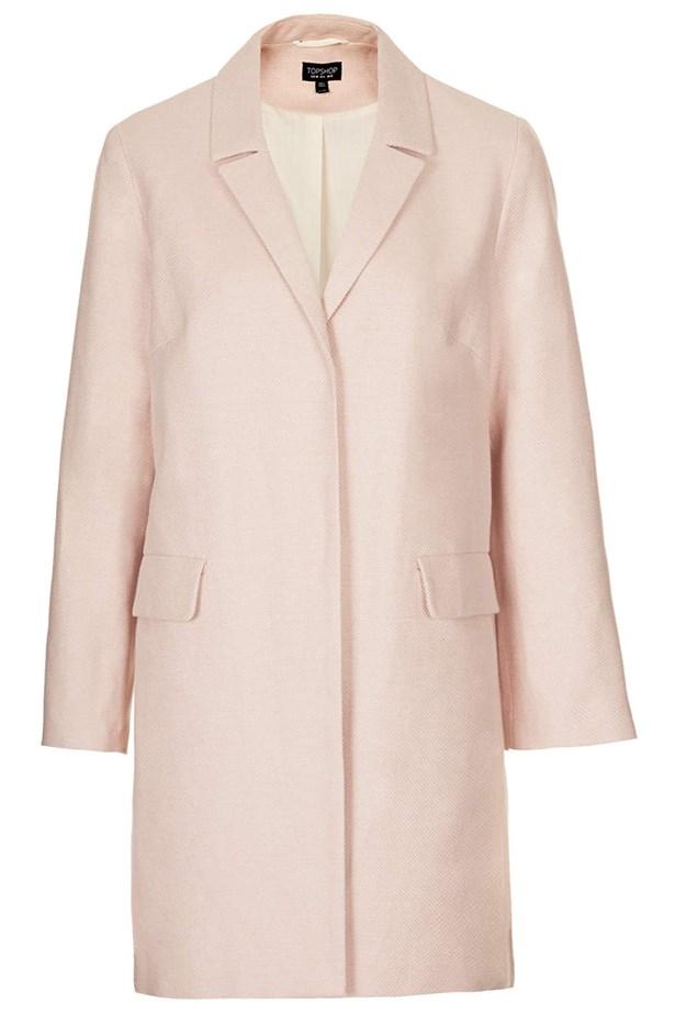 Coat, approx. $130, Topshop, topshop.com