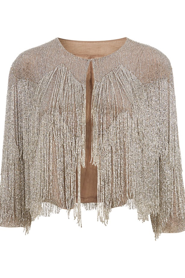 Jewelled jacket by Kate Moss for Topshop.